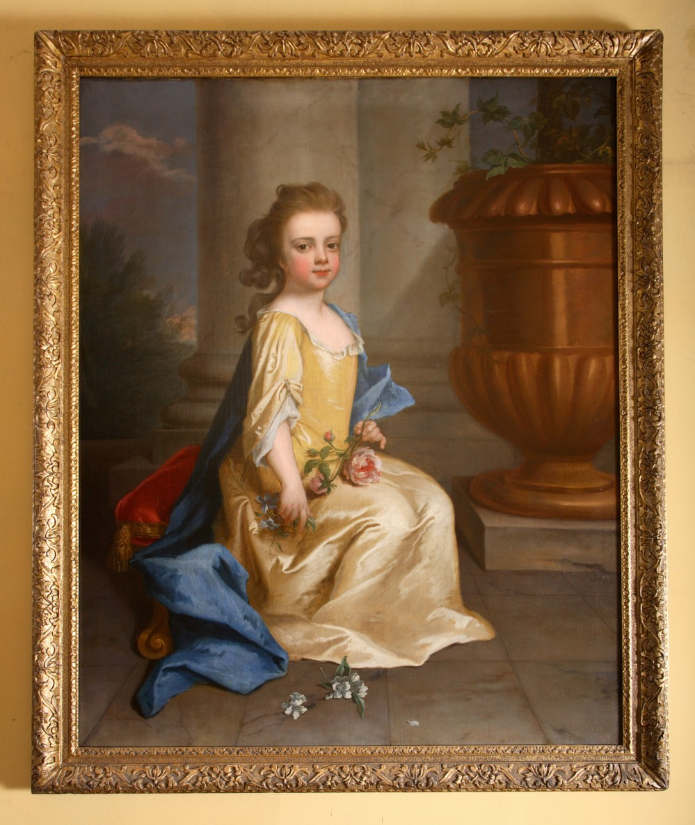 Lady Mary Booth later Countess of Stamford (1704 – 1772) as a child - Michael Dahl (Stockholm 1656:9 – London 1743)